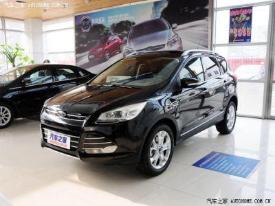 2014滁州春季大型车展开幕 福特翼虎好礼相送