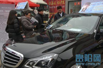 2014六盘水春季车展销售火爆 次日卖出23辆豪车