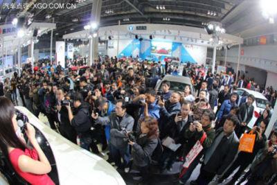 2014泰州车展在药城会展中心盛大开幕