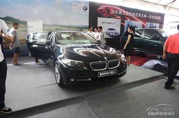 新BMW5系四门轿车
