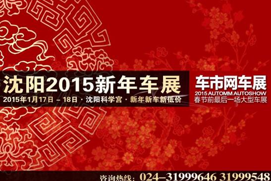 2015沈阳新年车展暨车市网第60届惠民车展