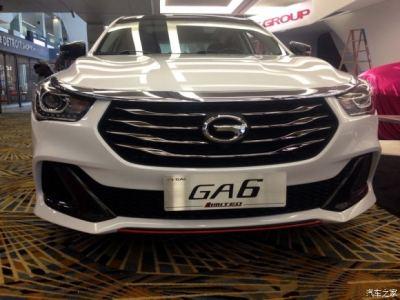 2015北美车展探馆:传祺GA6最新概念车