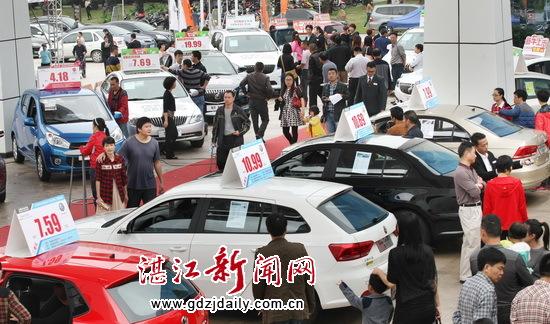 2015湛江日报社春季车展收官 蓄势再战盛夏