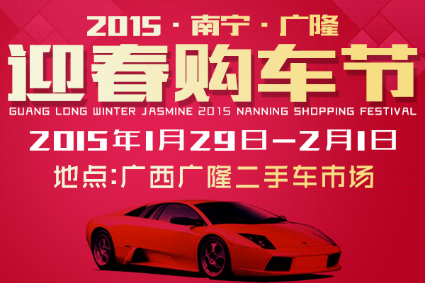 2015南宁广隆迎春购车节