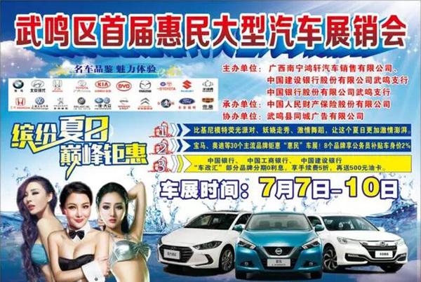 2016武鸣区首届惠民车展