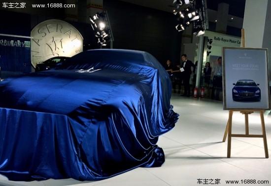 2017款玛莎拉蒂总裁 无锡车博会耀然登临