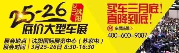 2017沈阳底价大型车展