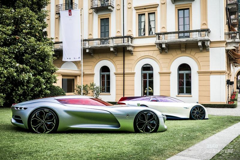 雷诺TREZOR在意大利埃斯特庄园车展上荣获最美概念车大奖