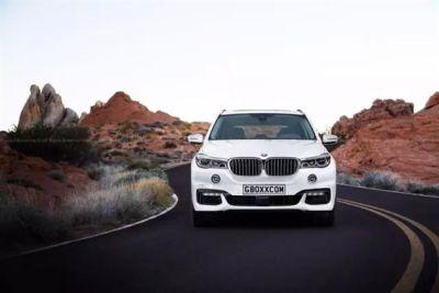 宝马X7概念车法兰克福车展发布 假想图曝光