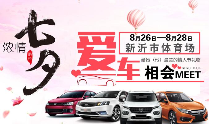 2017新沂七夕主题车展