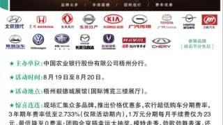 2017百城千店农行汽车节梧州站