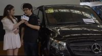 2017天津国际车展奔驰商务展台