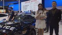 2017天津国际车展长安福特展台