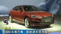 2017南昌国际车展开幕 新能源车受亲睐