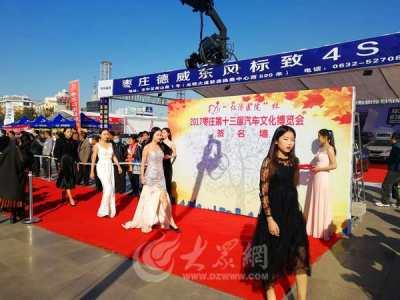 2017枣庄第十三届汽车文化博览会举行