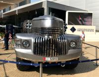 2017迪拜车展:土豪自己造的车,坐在上面路都看不见