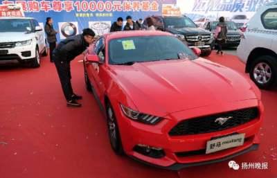 扬州冬季车博会两天卖出393台车