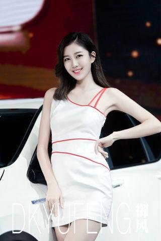2017广州国际车展车模:令人窒息的美