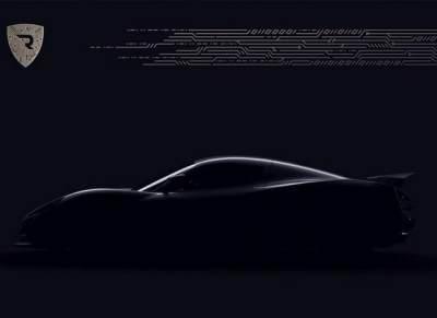 Rimac新电动超跑或将日内瓦车展亮相 预告图曝光