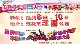 2017玉林年末大型车展12月8-10日盛大开幕