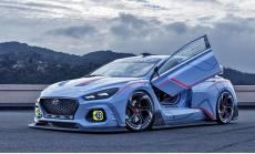 2018台北车展:观点车RN 30与Hyundai Lady吸引眼光