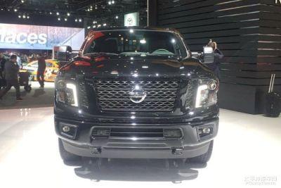 2018北美车展首发新车:日产Titan午夜版