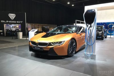 2018北美车展首发新车:宝马i8 Roadster特别版