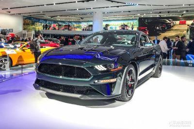 2018北美车展首发新车:福特Mustang Bullitt