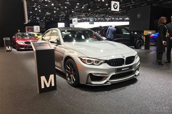 2018北美车展:宝马M3 CS