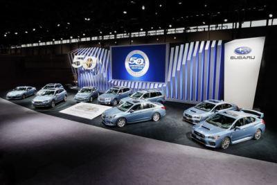 2018芝加哥车展:斯巴鲁50周年纪念版亮相