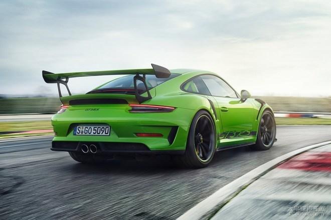 保时捷新款911 GT3 亮相2019海西汽博会