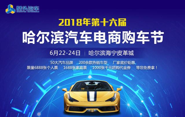 2018年第十六届砖头汽车哈尔滨汽车电商购车节