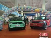 第十届呼和浩特国际车展开幕 新能源车受亲睐