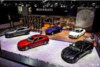 玛莎拉蒂全系车型亮相呼和浩特国际车展