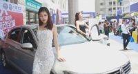 2017第一届汕尾网友好车展豪车嫩模热闹非凡!
