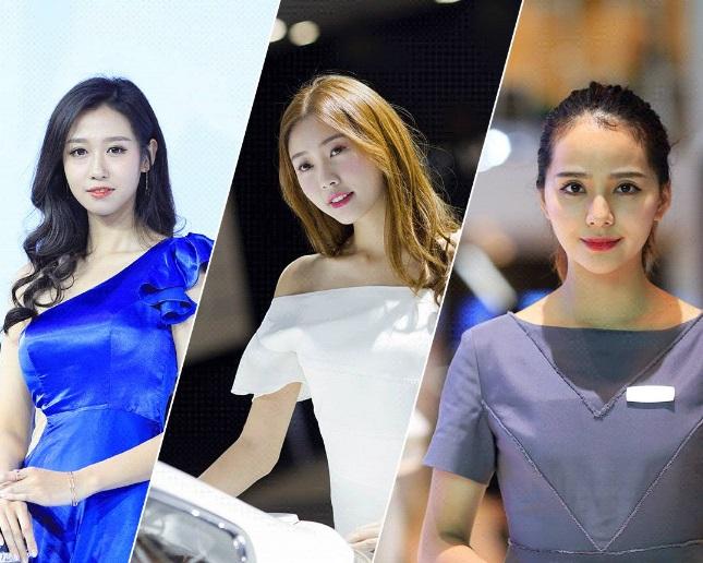 广州车展最漂亮的15位车模,高清美照流出,不看后悔!