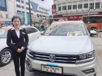 宝清县通达街大型车展现场实拍