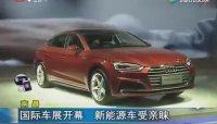 2018南昌国际车展开幕 新能源车受亲睐
