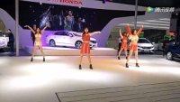 2018九江国际车展美女热舞,美翻了