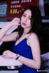 2018南京车展车模小姐姐无人理睬美了摄影师