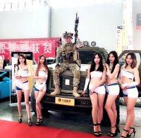 2018年第17届沈阳国际车展完全体的擎天柱房车
