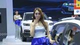 青島國際車展上車模美女大長腿