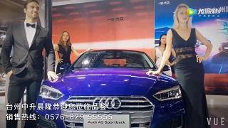 台州国际车展 奥迪A7展位 诚邀您莅临品鉴