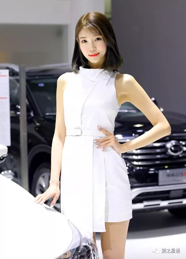 2018宁波车展美女如云非常抢眼!