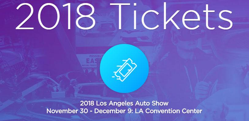 洛杉矶车展门票
