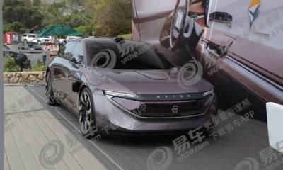 2018圆石滩车展:拜腾K-ByteConcept亮相搭载L4级自动驾驶