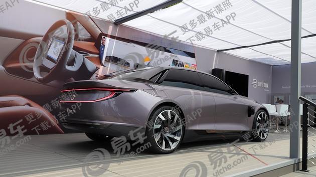 圆石滩车展,拜腾K-Byte Concept, 拜腾K-Byte Concept L4级自动驾驶