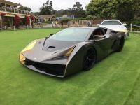 2018圆石滩车展:Salaff双座超级跑车C2正式亮相