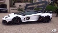 兰博基尼AventadorSVJ63于圆石滩车展发布限量63台!