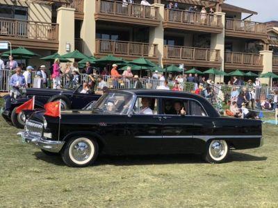 2018圆石滩车展:心中的红旗CA72车型